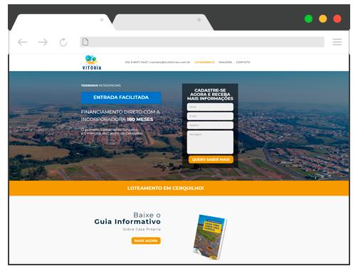 Site Residencial Vitoria