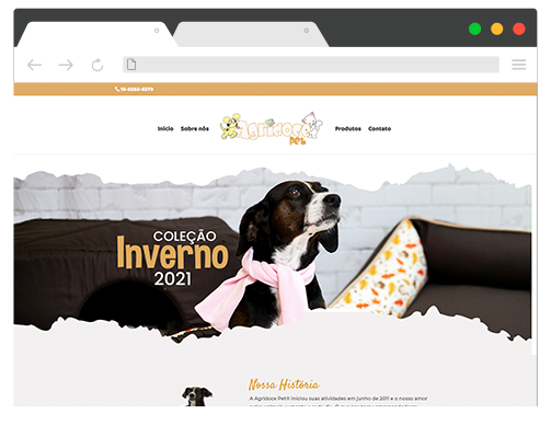 Site Agridoce pet